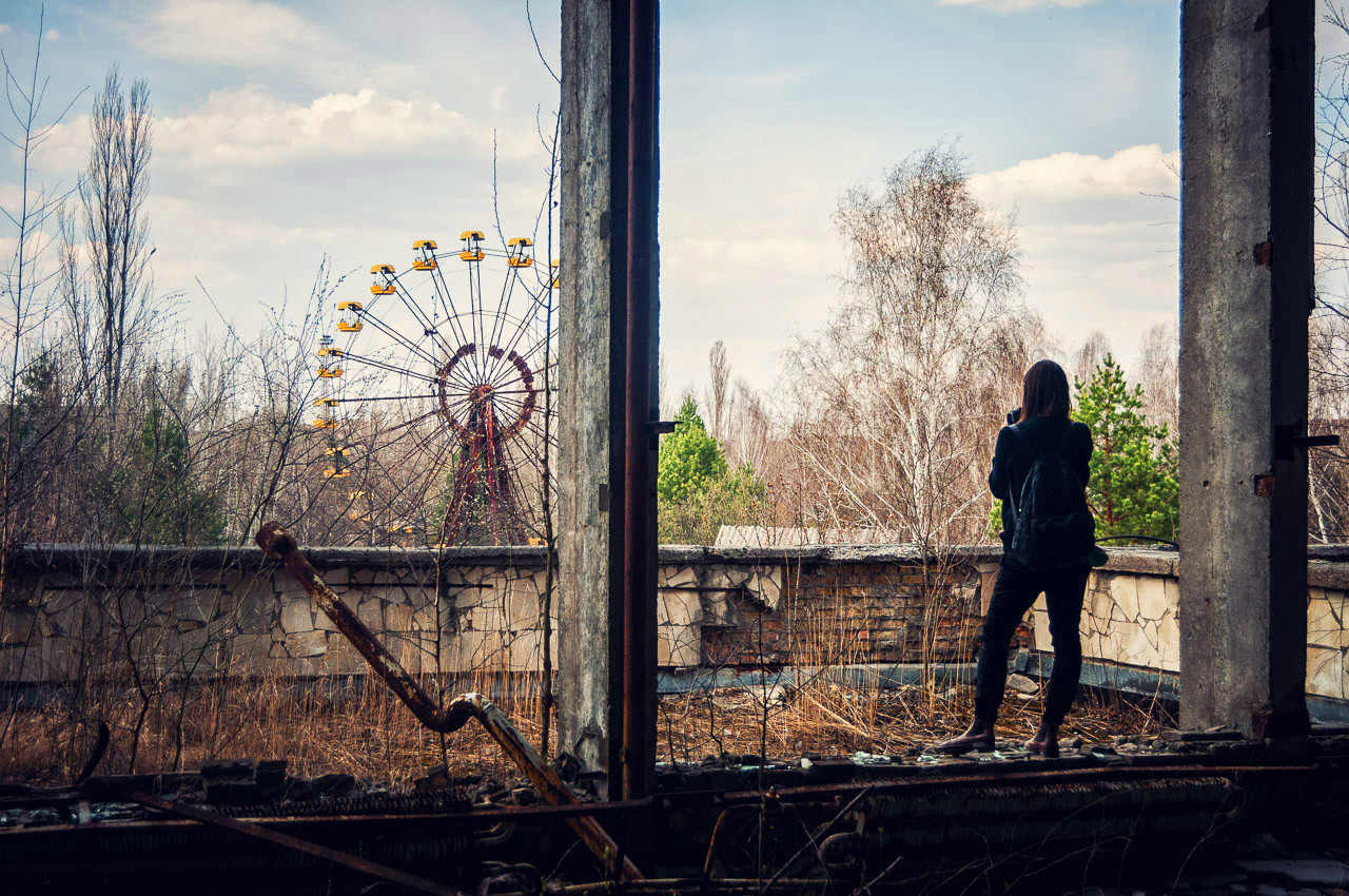 Want to capture the ghost City of Chernobyl